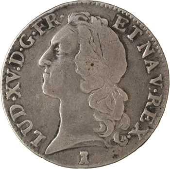 Louis XV, écu au bandeau, 1741 Nantes