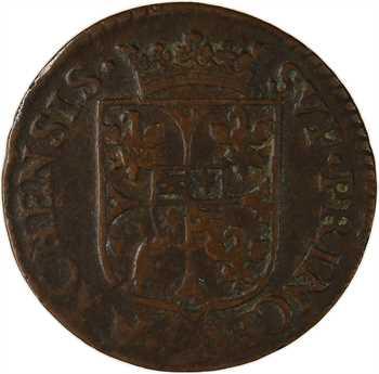 Ardennes, Charleville (principauté de), Charles Ier de Gonzague, liard 2e type, 1609 Charleville