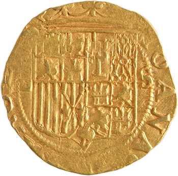 Espagne, Jeanne et Charles, escudo, Séville
