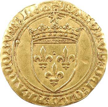 Charles VIII, écu d'or au soleil, 1re émission, Châlons-en-Champagne