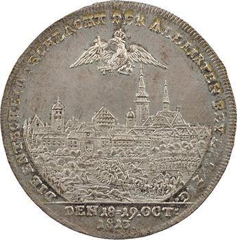 Russie/Autriche, la bataille de Leipzig, 1813