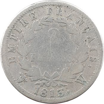 Premier Empire, 2 francs Empire, 1813 Lille