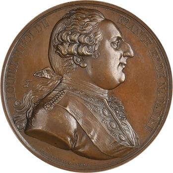 États-Unis, Louis XVI, série des Rois de France, par Caqué et De Puymaurin, s.d. Paris