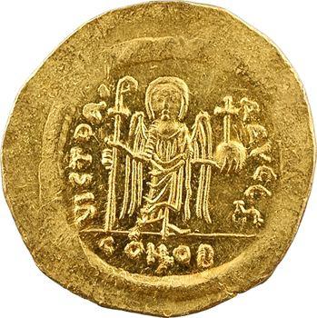 Maurice Tibère, solidus, Constantinople, 6e officine, 582-602