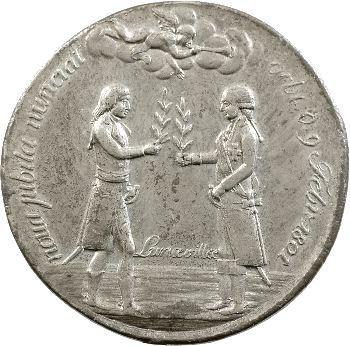 Consulat, médaille pour la Paix de Lunéville, 1801