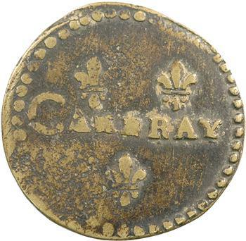 Cambrésis, Cambrai, méreau municipal, s.d. (XVIIe s.)