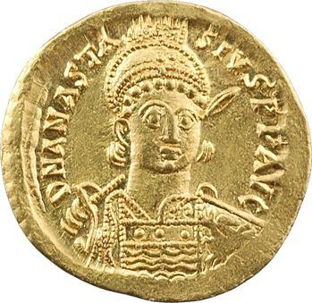 Anastase, solidus, Constantinople, 6e officine, 491-498