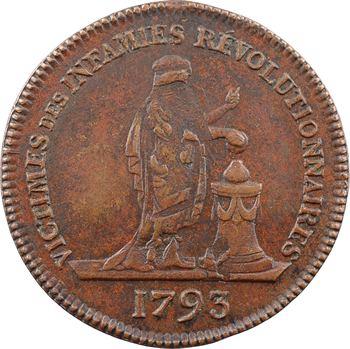 Mort de Marie-Antoinette, 1793 (Restauration ?) Paris