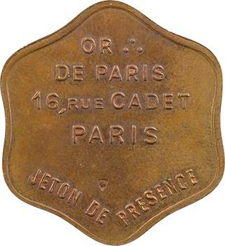 Orient de Paris, loge Agni, 5920 (1920) Paris