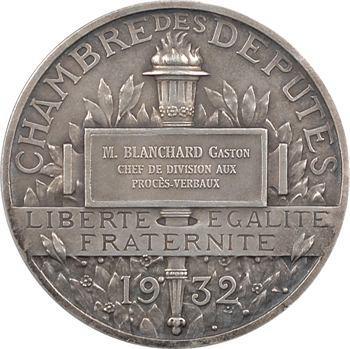 Prud'homme (G.-H.) : Gaston Blanchard chef de division à l'Assemblée Nationale, 1932 Paris