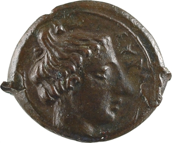 Sicile, Syracuse, Seconde démocratie, tétras, c.425 av. J.-C