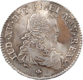 Louis XV, écu de France, 1721 Tours