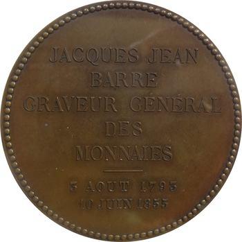 Second Empire, Jacques-Jean Barre par Auguste et Albert Barre, 1855 Paris PCGS SP63BN