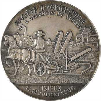 Lisieux, société d'agriculture, 1896 Paris