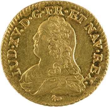 Louis XV, louis aux lunettes, 1737 Paris