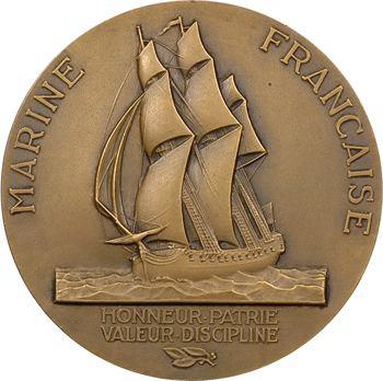 IVe République, Marine Française, hommage à La Pérouse, par Guiraud, s.d. (1956) Paris