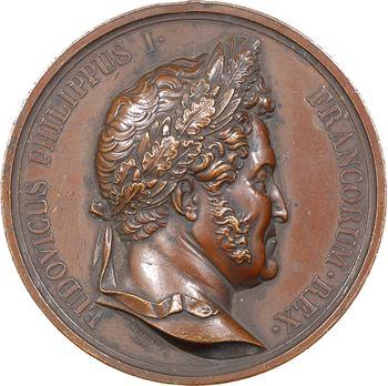 Louis-Philippe Ier, inauguration de la colonne de juillet, 1840 Paris