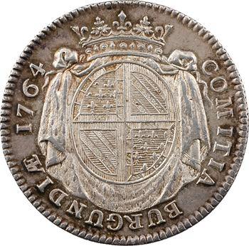 Bourgogne (États de), Seguin de la Motte, par Duvivier, 1764 Paris