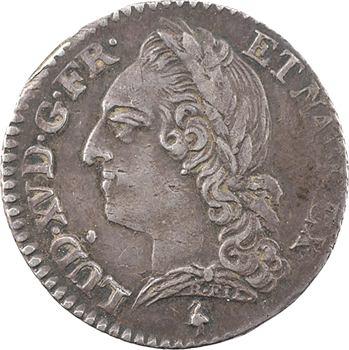Louis XV, dixième d'écu à la vieille tête, 1771, 2d semestre, Paris