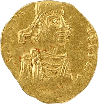 Constantin IV, semissis, Constantinople, 668-685