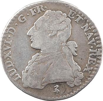 Louis XVI, dixième d'écu aux branches d'olivier, 1786, 2d semestre Paris