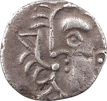 Volques Tectosages, obole à la croix, série IV, c.IIe-Ier s. av. J.-C