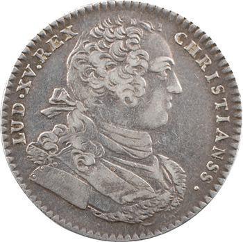 Amérique, Canada, Louis XV, jeton, Neptune et Mars, 1757 Paris