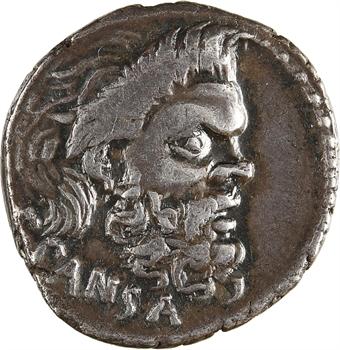 Vibia, denier, Rome, 48 av. J.-C