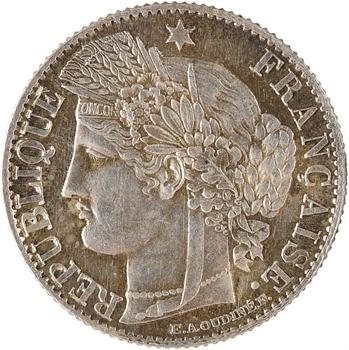 IIIe République, 50 centimes Cérès, 1872 Paris