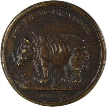 Italie, Florence, le Grand-Duc Alexandre Médicis, fonte d'Antonio Selvi, XVIe s. (postérieur)