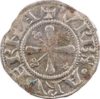 Auvergne, Clermont (évêché de), Anonymes, denier à la Vierge, XIIIe siècle
