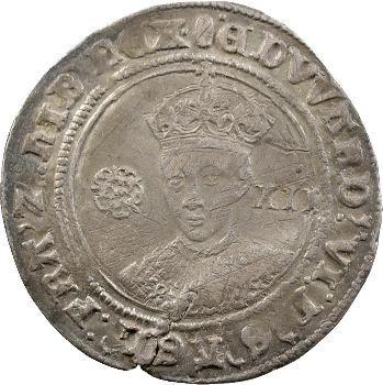 Angleterre, Édouard VI, shilling, Londres