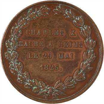 Charles X, sacre du 29 mai 1825 à Reims, par Dusseaut, 1825