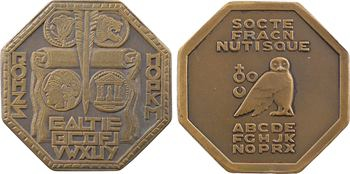 Société Française de Numismatique, lot de 2 jetons, s.d. et 1931 Paris