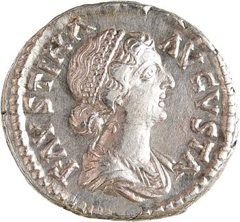 Faustine Jeune, denier, Rome, après 165