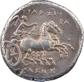 Sicile, Syracuse, période de Hiéron II, huit litrae, c.275-212 av. J.-C.