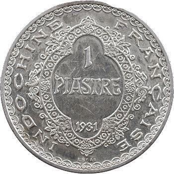 Indochine, essai-piéfort de la piastre, 1931 Paris