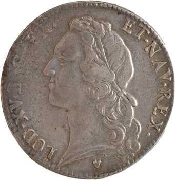 Louis XV, écu au bandeau, 1771 Aix-en-Provence