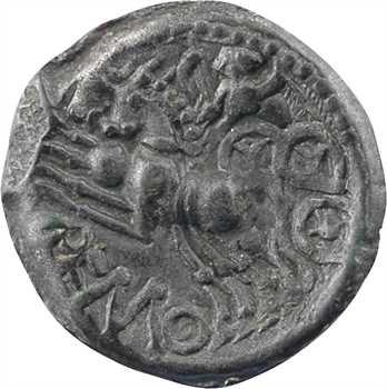 Rèmes, bronze REMO aux trois têtes, c.60-40 av. J.-C