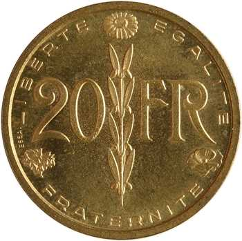 IVe République, essai de 20 francs par Simon, 1950 Paris