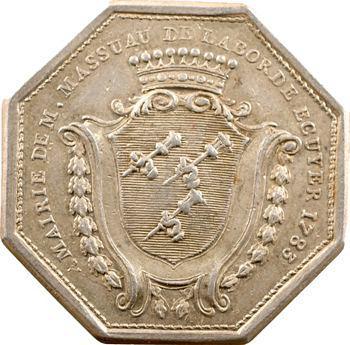 Orléans (mairie d'), Massuau de Laborde, maire, 1783