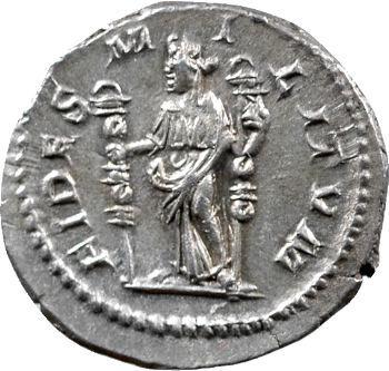 Sévère Alexandre, denier, Rome, 225