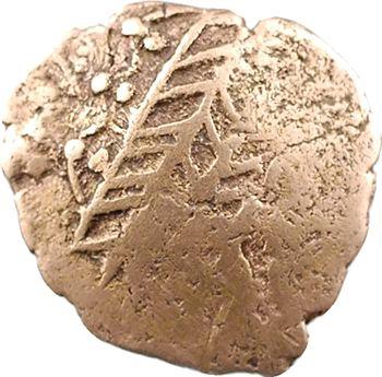 Leuques, quart de statère au cheval retourné, IIe-Ier s. av. J.-C.