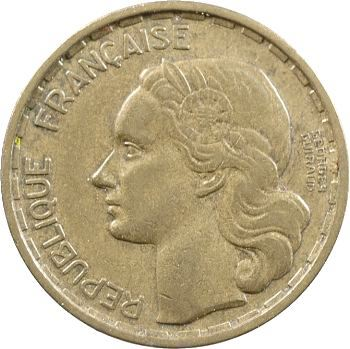 IVe République, 20 francs Georges Guiraud, 4 faucilles, 1950 Beaumont