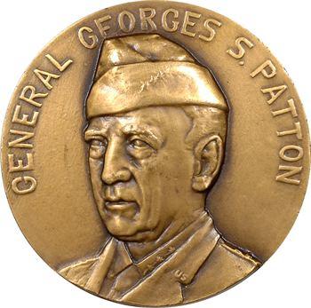 IIe Guerre mondiale, le Général Patton, par Lamourdedieu, 1945 Paris