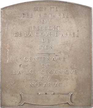 Armand-Calliat (T.-J.) : centenaire de la loi organique du Notariat, s.d. (1903) Lyon