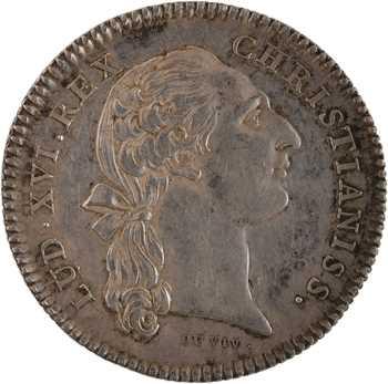 Louis XV, les États de Bourgogne, par Duvivier, 1776 Paris