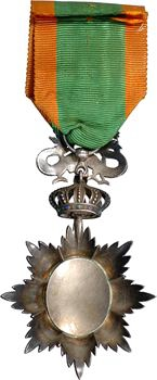 Annam (empire d'), Ordre du Dragon vert, insigne d'Officier