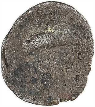 Salyens (Provence occidentale), hémiobole à la tête de satyre et corne, c.100 av. J.-C
