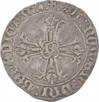 Bretagne (duché de), François II, gros à l'écu, s.d. Rennes